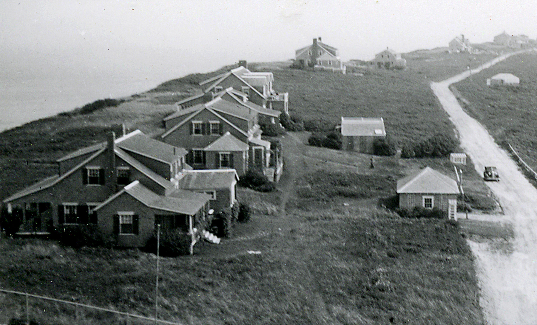 Siasconset Bluff in 1937