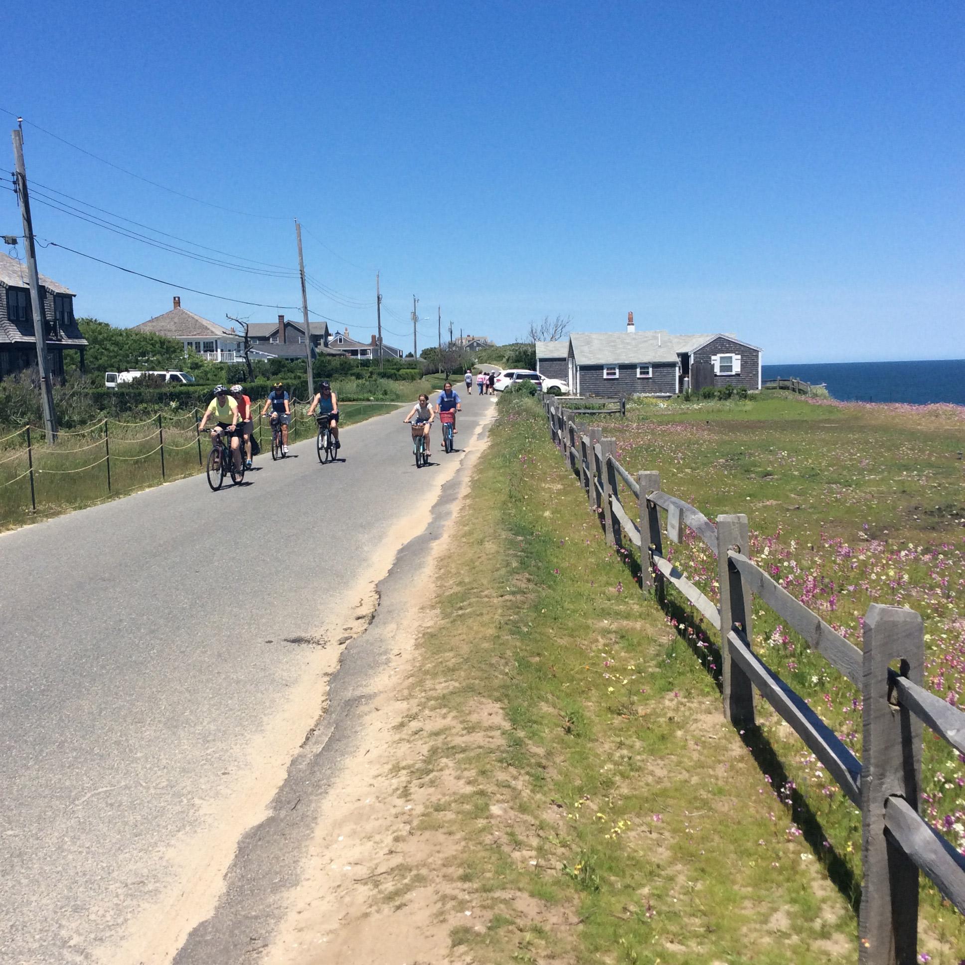 Bikers on Baxter Road
